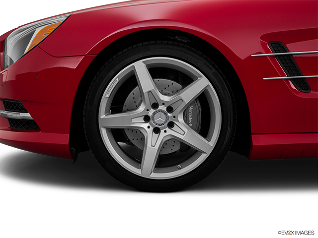 2016 Mercedes-Benz SL-Class Front Drivers side wheel at profile