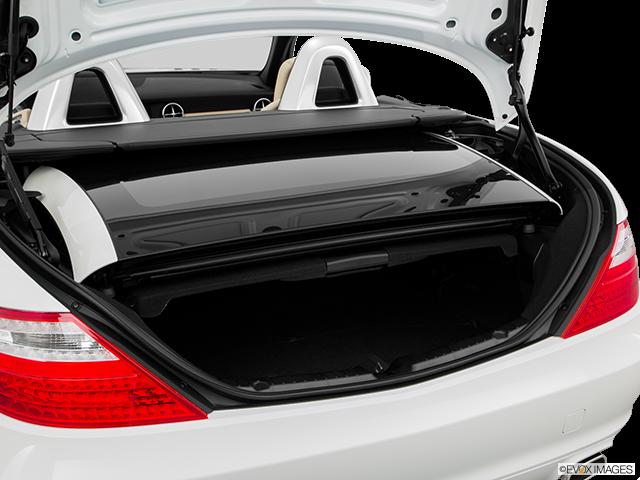 2016 Mercedes-Benz SLK Trunk open