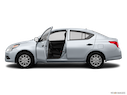 2016 Nissan Versa Driver's side profile with drivers side door open