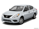 2016 Nissan Versa Front angle view