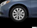 2016 Subaru Legacy Front Drivers side wheel at profile