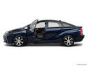 2016 Toyota Mirai Driver's side profile with drivers side door open
