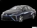 2016 Toyota Mirai Front angle medium view