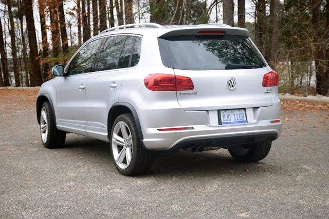 2016 Volkswagen Tiguan Exterior