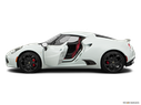 2017 Alfa Romeo 4C Driver's side profile with drivers side door open