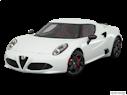 2017 Alfa Romeo 4C Front angle view