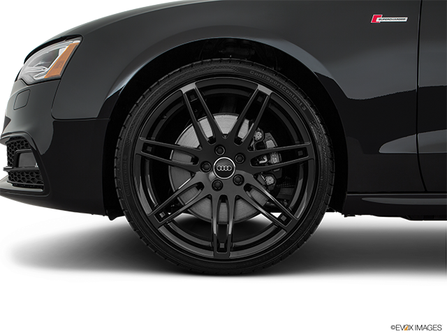 2017 Audi S5 Front Drivers side wheel at profile