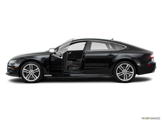2017 Audi S7 Driver's side profile with drivers side door open
