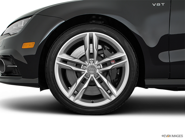 2017 Audi S7 Front Drivers side wheel at profile