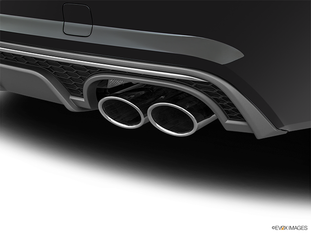 2017 Audi S7 Chrome tip exhaust pipe