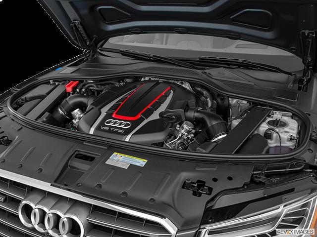2017 Audi S8 plus Engine