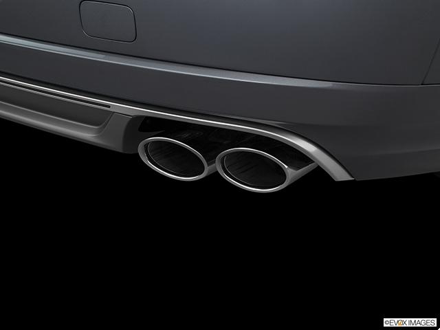 2017 Audi S8 plus Chrome tip exhaust pipe