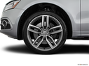 2017 Audi SQ5 Front Drivers side wheel at profile