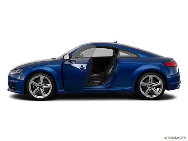 2017 Audi TTS Driver's side profile with drivers side door open