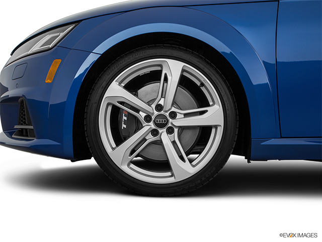 2017 Audi TTS Front Drivers side wheel at profile