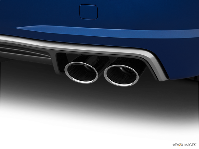 2017 Audi TTS Chrome tip exhaust pipe