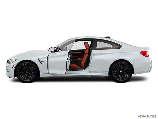 2017 BMW M4 Driver's side profile with drivers side door open