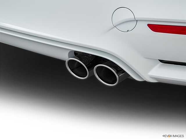 2017 BMW M4 Chrome tip exhaust pipe