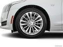 2017 Cadillac CT6 Front Drivers side wheel at profile