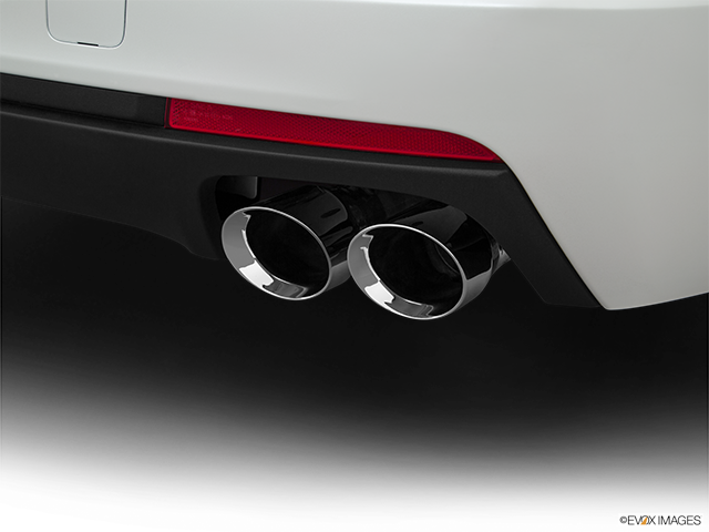 2017 Cadillac CT6 Chrome tip exhaust pipe