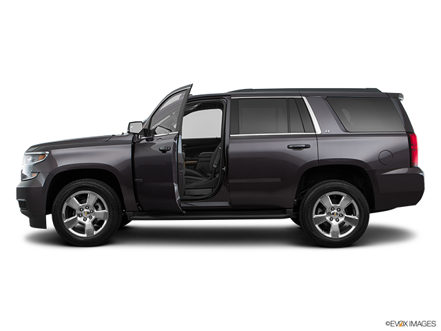 2017 Chevrolet Tahoe Driver's side profile with drivers side door open