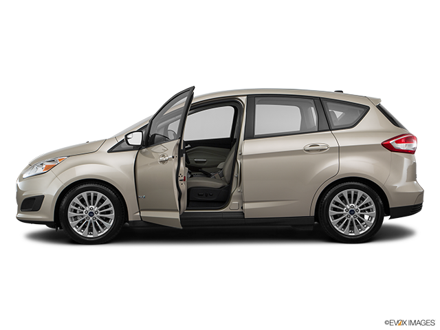 2017 Ford C-MAX Hybrid Driver's side profile with drivers side door open