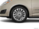 2017 Ford C-MAX Hybrid Front Drivers side wheel at profile