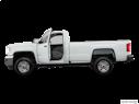 2017 GMC Sierra 2500HD Driver's side profile with drivers side door open