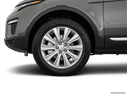 2017 Land Rover Range Rover Evoque Front Drivers side wheel at profile