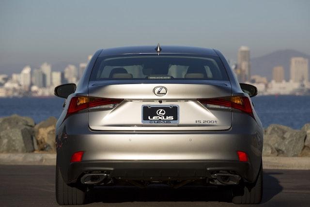 2017 Lexus IS 200t Exterior