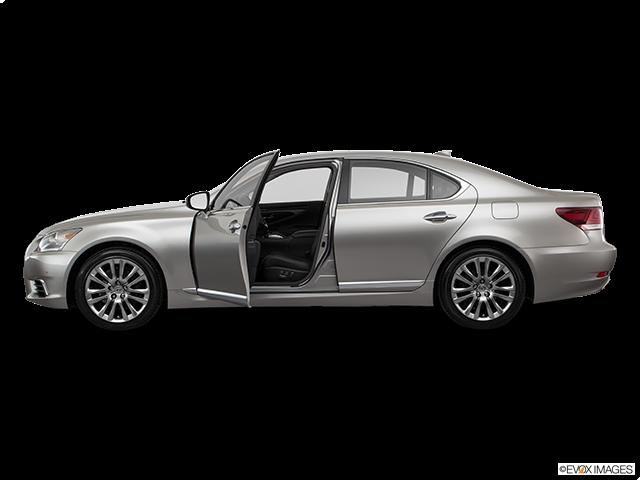 2017 Lexus LS 460 Driver's side profile with drivers side door open