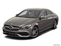 2017 Mercedes-Benz CLA Front angle view