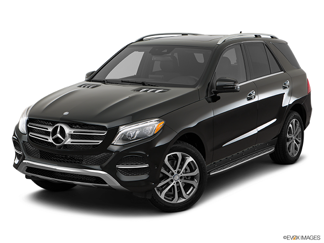 2017 Mercedes-Benz GLE Front angle view