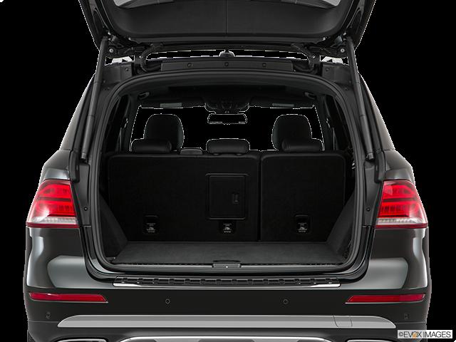 2017 Mercedes-Benz GLE Trunk open