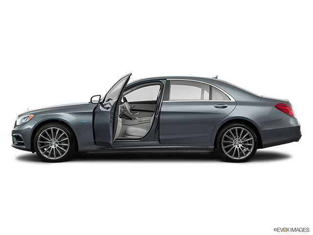 2017 Mercedes-Benz S-Class Driver's side profile with drivers side door open