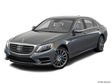 2017 Mercedes-Benz S-Class Front angle view