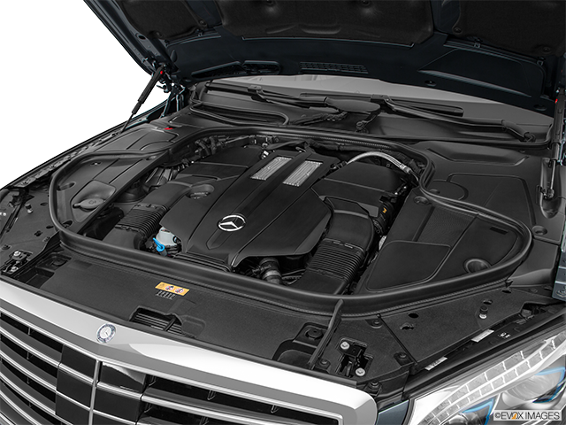 2017 Mercedes-Benz S-Class Engine
