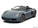 2017 Porsche 718 Boxster Front angle view