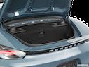 2017 Porsche 718 Boxster Trunk open