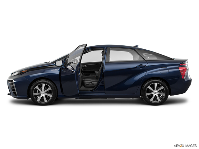 2017 Toyota Mirai Driver's side profile with drivers side door open