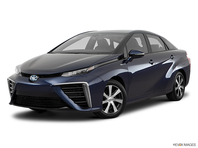 2017 Toyota Mirai Front angle medium view
