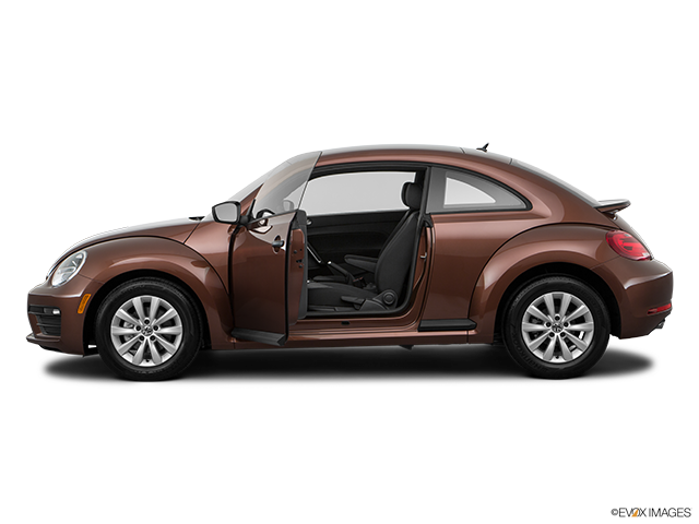 2017 Volkswagen Beetle Driver's side profile with drivers side door open