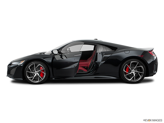 2018 Acura NSX Driver's side profile with drivers side door open