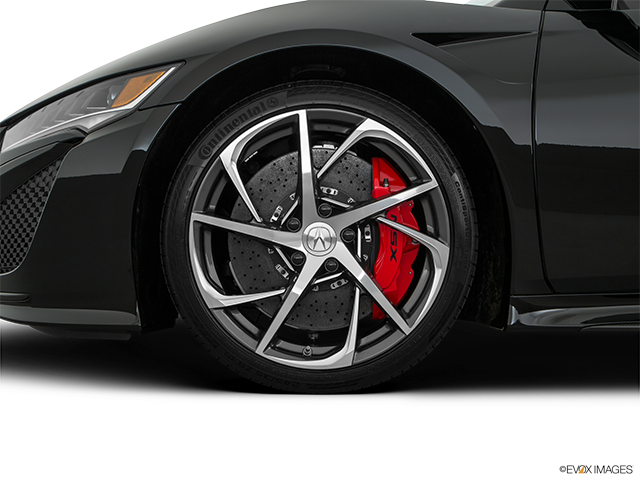 2018 Acura NSX Front Drivers side wheel at profile