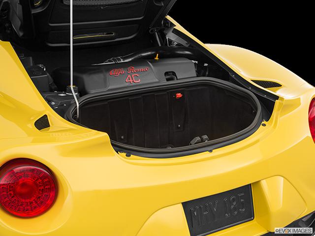 2018 Alfa Romeo 4C Trunk open