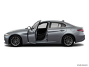 2018 Alfa Romeo Giulia Driver's side profile with drivers side door open