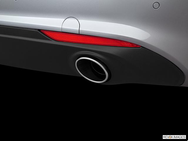 2018 Alfa Romeo Giulia Chrome tip exhaust pipe