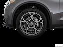 2018 Alfa Romeo Stelvio Front Drivers side wheel at profile