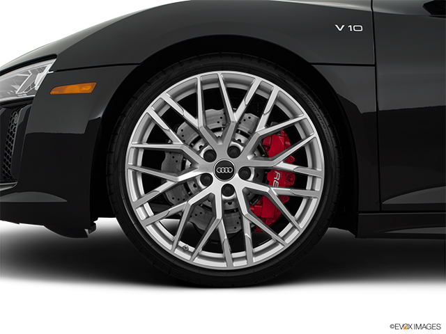 2018 Audi R8 Front Drivers side wheel at profile