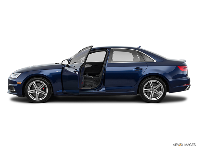 2018 Audi S4 Driver's side profile with drivers side door open